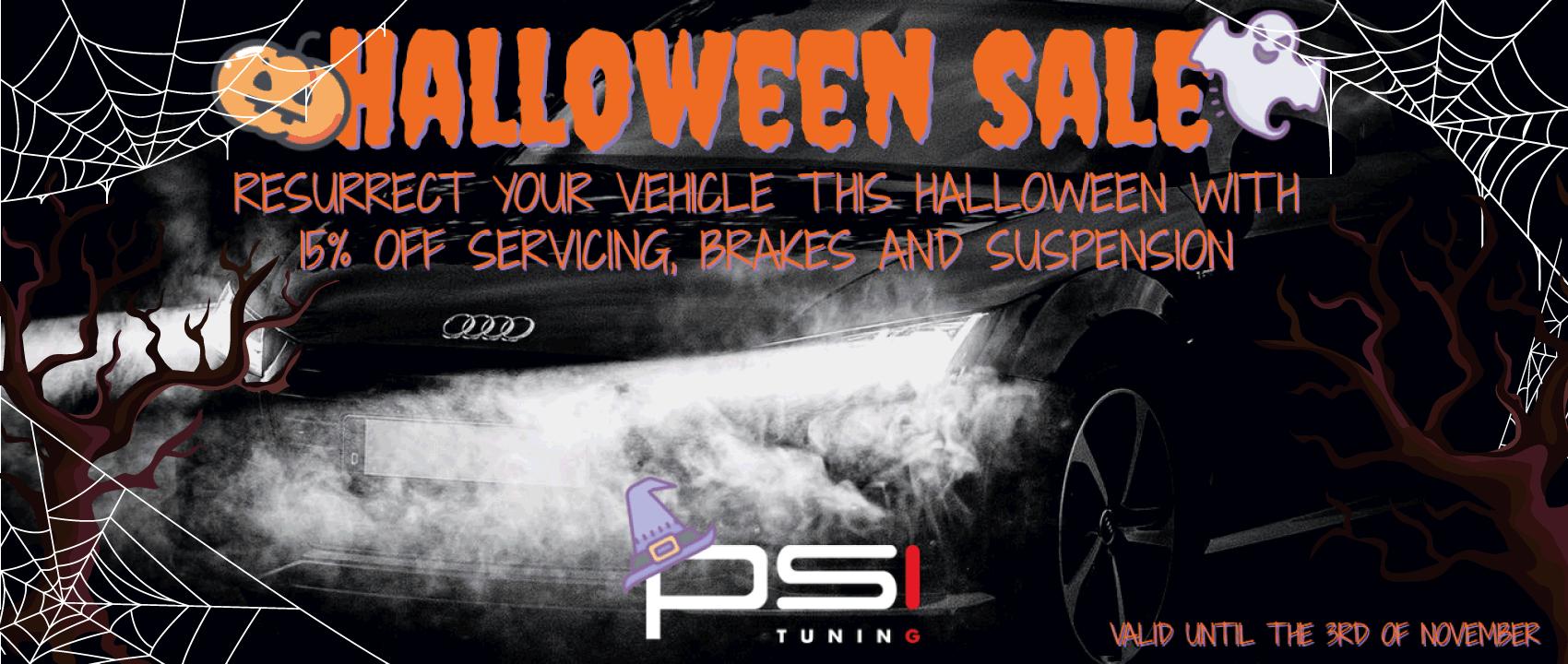 Halloween Servicing