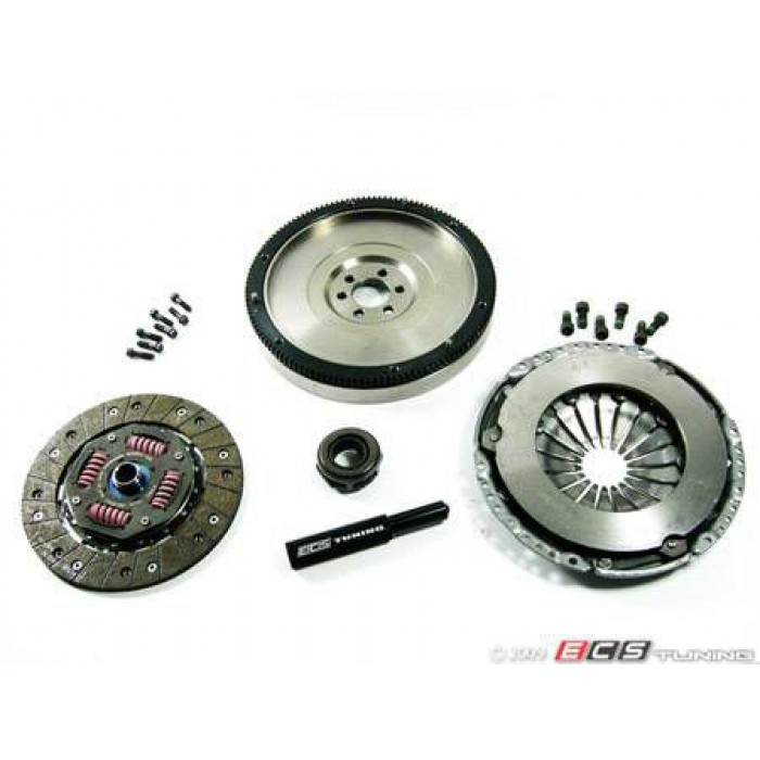 ECS Stage 1 Clutch Kit - With Lightweight Steel Flywheel (20.5lbs) 5speed