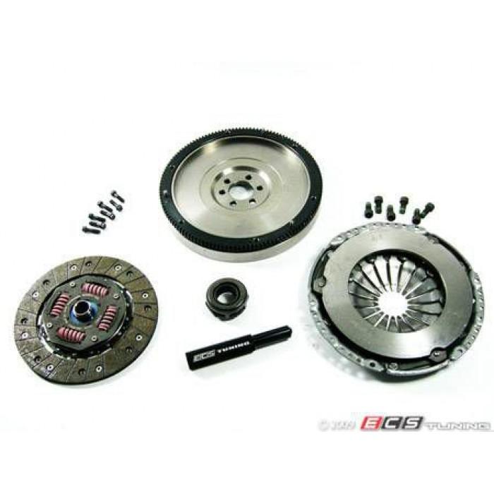 ECS Stage 1 Clutch Kit - With Lightweight Steel Flywheel (20.5lbs) 5speed