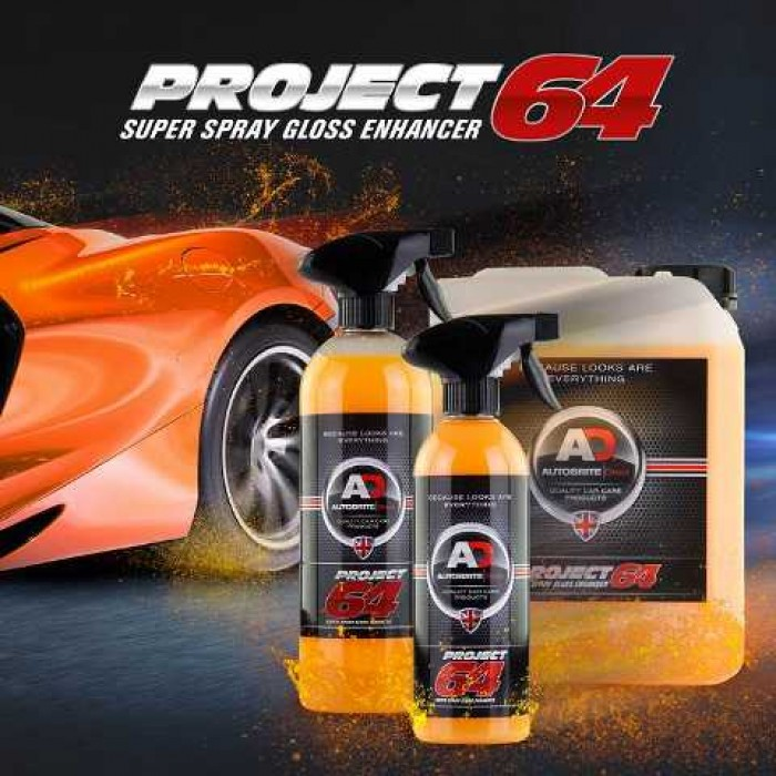 AutoBrite - Project 64 - Super Spray Gloss Enhancer 500ML