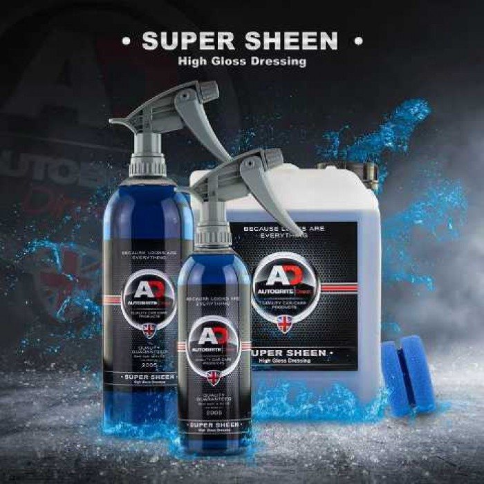 AutoBrite - SuperSheen - Interior & Exterior Quick Gloss Dressing 500ML
