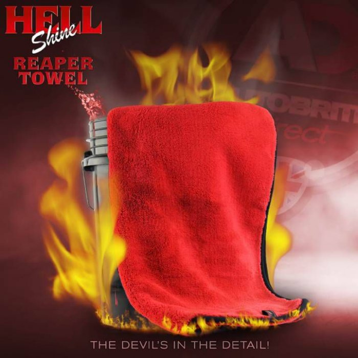 AutoBrite - Hellshine - The Reaper - Super Plush Drying Towel