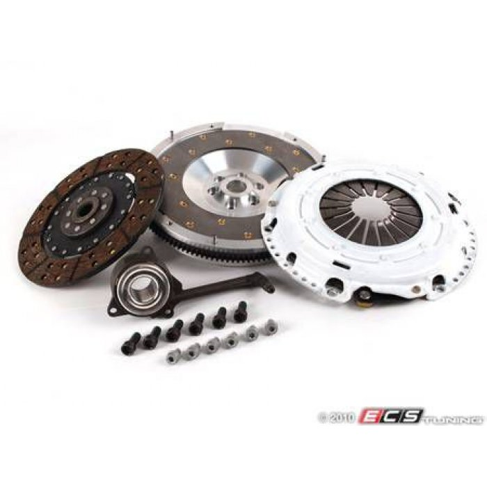 Clutch Masters Stage 1 Clutch Kit - Aluminum Flywheel (13lbs.) - Golf Mk4/TT Mk1 etc 6 speed