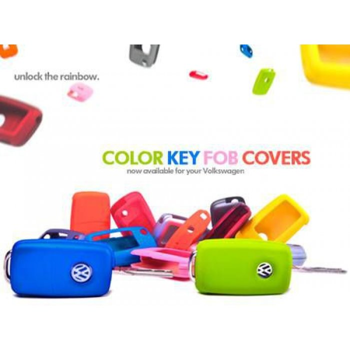 Remote Key Cover Plastic - 2000-2009 Square button fobs only
