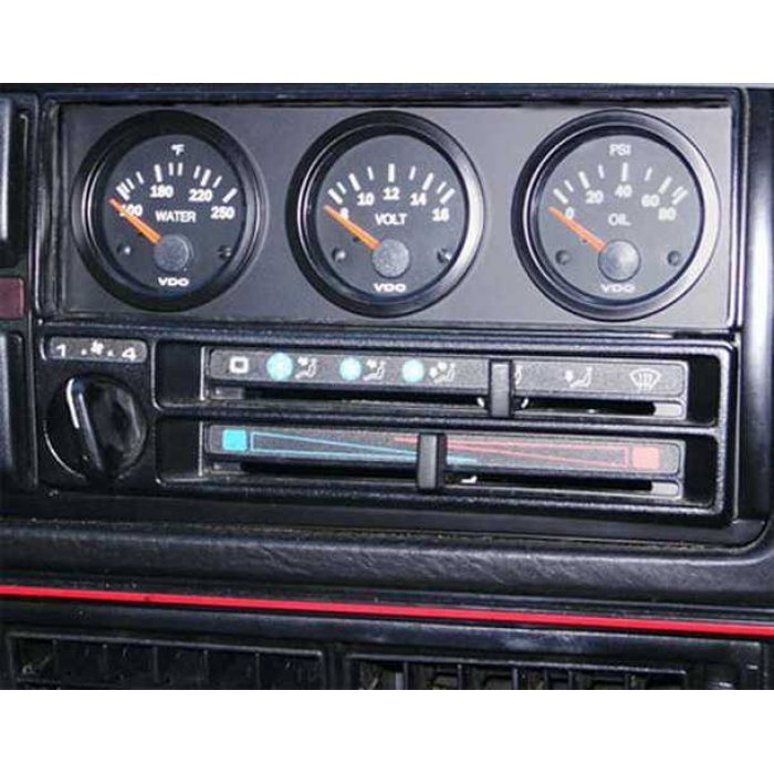 Newsouth Universal 3-Gauge DIN Panel