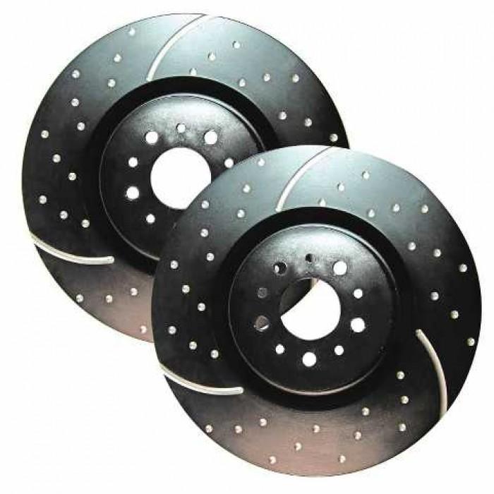 EBC Turbo Groove Front Discs - Golf Mk4 288mm/Polo 9N2 GTI 150