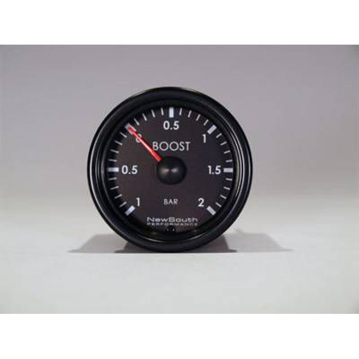 Newsouth Indigo -1 to +2 Bar Metric Boost Gauge