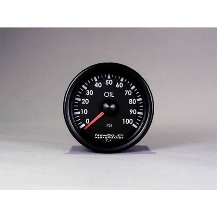 Newsouth VW White 100 PSI Oil Pressure Gauge - Golf Mk6 etc