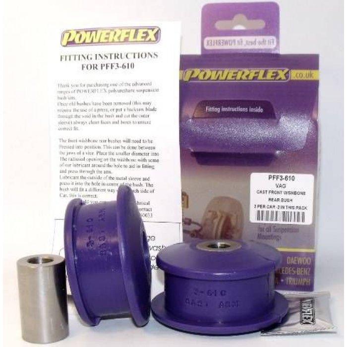 Powerflex Pack - PFF3-610 - Front Wishbone Rear Bush R32 - Golf Mk4 4motion