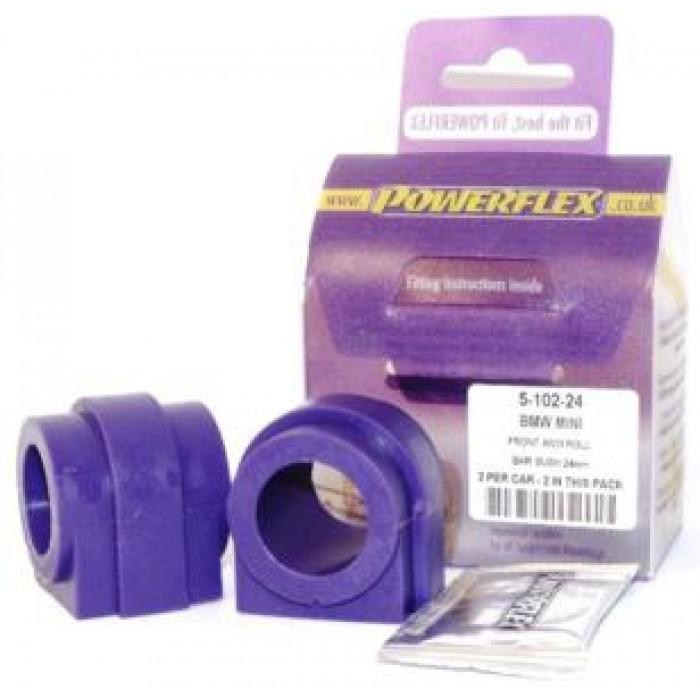 Powerflex Pack - PFF5-102-24 - Front Anti Roll Bar Bush 24mm - Mini Generation 1