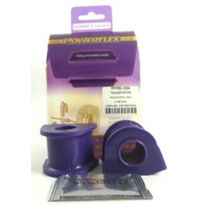 Powerflex Pack - PFF85-1004 - Front Anti Roll Bar To Chassis Bush 21mm - T3 Transporter, Bus Caravelle, Kombi (1980-1992)