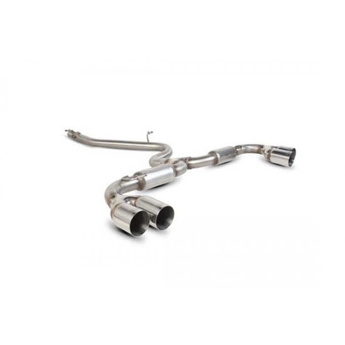 Scorpion Exhausts Cat-back system (quad) - TT Mk2 2.0 Tdi Quattro (Not Cab) 2009 - Current