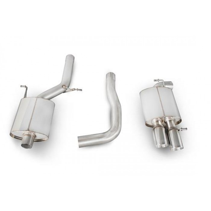Scorpion Exhausts Cat back system (standard outlet) - A4 B8 2.0 TFSi 2wd Manual 2008 - Current