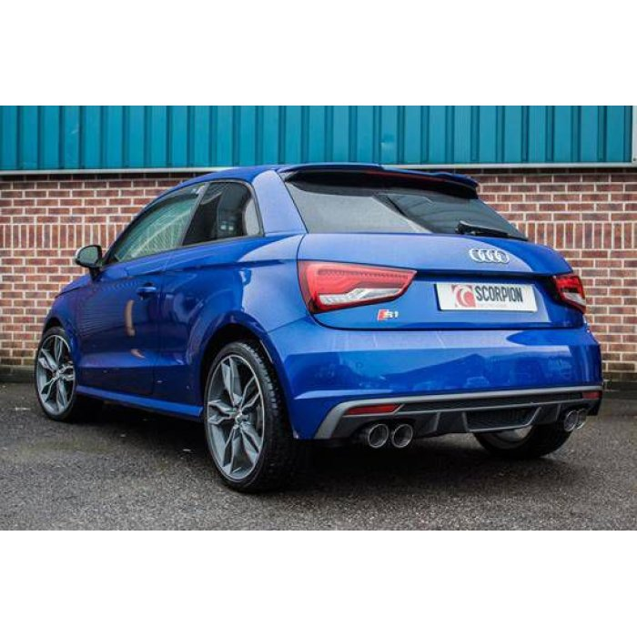 Scorpion Exhausts Cat-back system (non-resonated) - S1 2.0 TFSi Quattro 2014 - Current