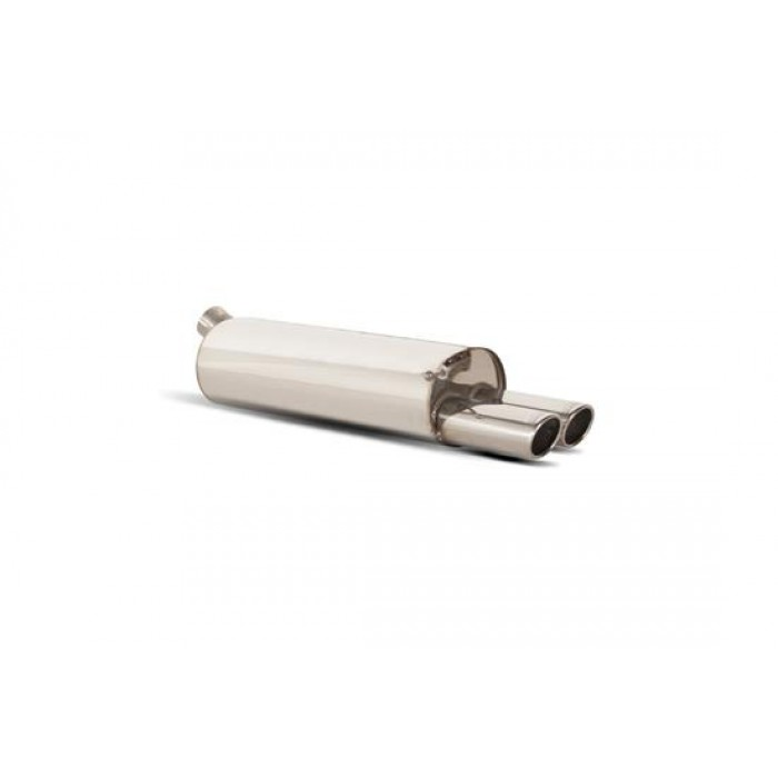 Scorpion Exhausts Rear silencer only - Golf Mk4 All excluding 2.3 V5 & 4WD models  1998 - 2006