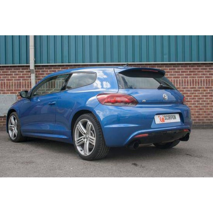 Scorpion Exhausts Cat-back system (non-resonated) - Scirocco R 2009 - Current