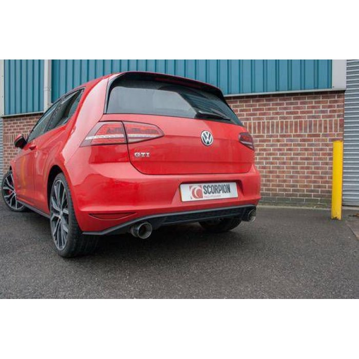 Scorpion Exhausts Cat-back system (non-resonated) - Golf MK7 Gti  2013 - Current
