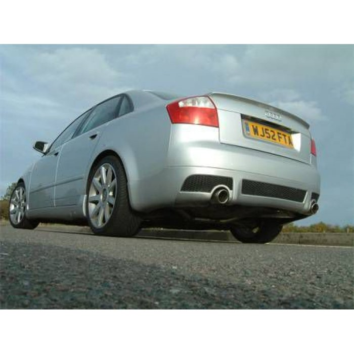 Milltek Cat-back - A4 1.8T B6 2WD Saloon - Avant 190BHP (6 speed) - Dual 90mm Jet