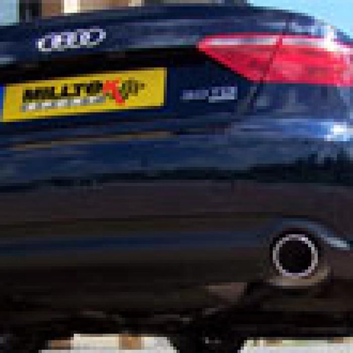 Milltek Cat Back Exhaust - A5 Coupé 3.0 TDi (DPF) Quattro - Dual Outlet