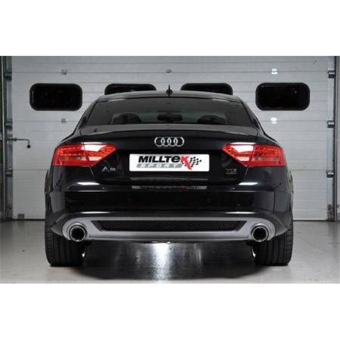 Milltek Cat Back Exhaust - A5 Sportback 3.0 TDI Quattro S tronic - Quad Outlet