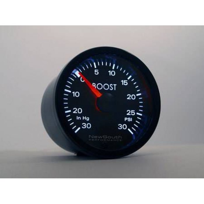 Newsouth Audi White 30inHg 30 PSI Boost Gauge