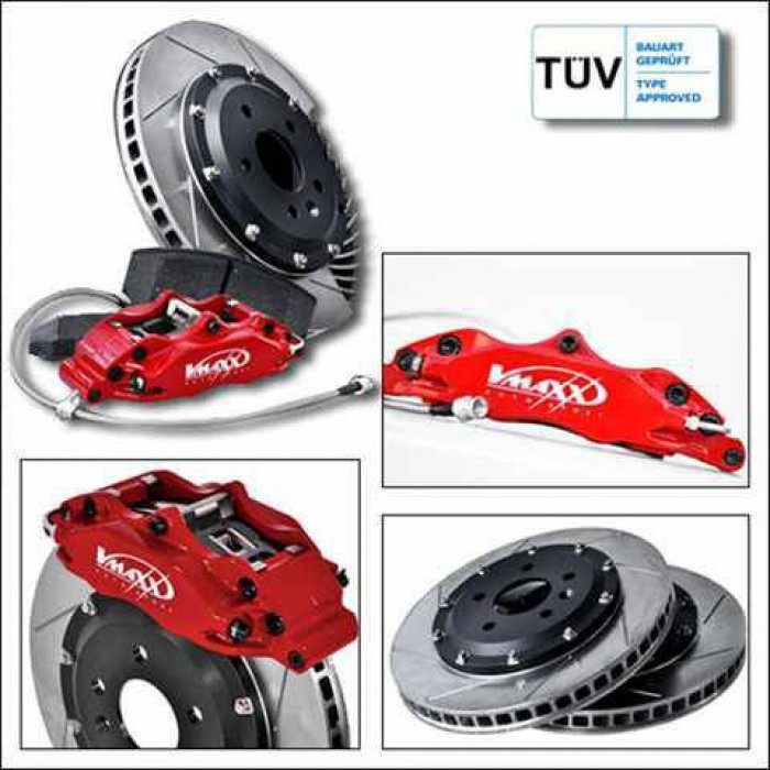 Vmaxx Big Brake Kit 330mm - Caddy Mk3 All FWD Models 2K 04-