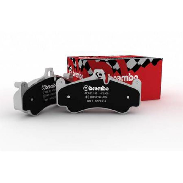 Brembo HP Sport Front Pads - Fabia VRS