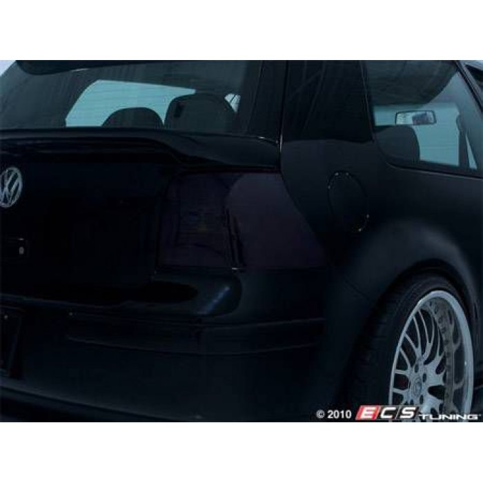 LaminX Taillight Covers - Charcoal - Golf Mk4