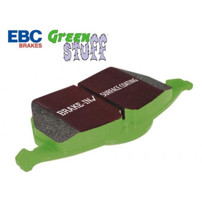EBC Green Stuff Rear Brake Pads - Lupo 1.4 100+105hp