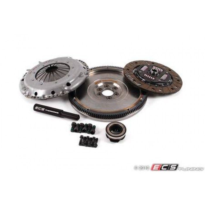 ECS Stage 1 Clutch Kit - With Lightweight Steel Flywheel (14lbs) 5speed
