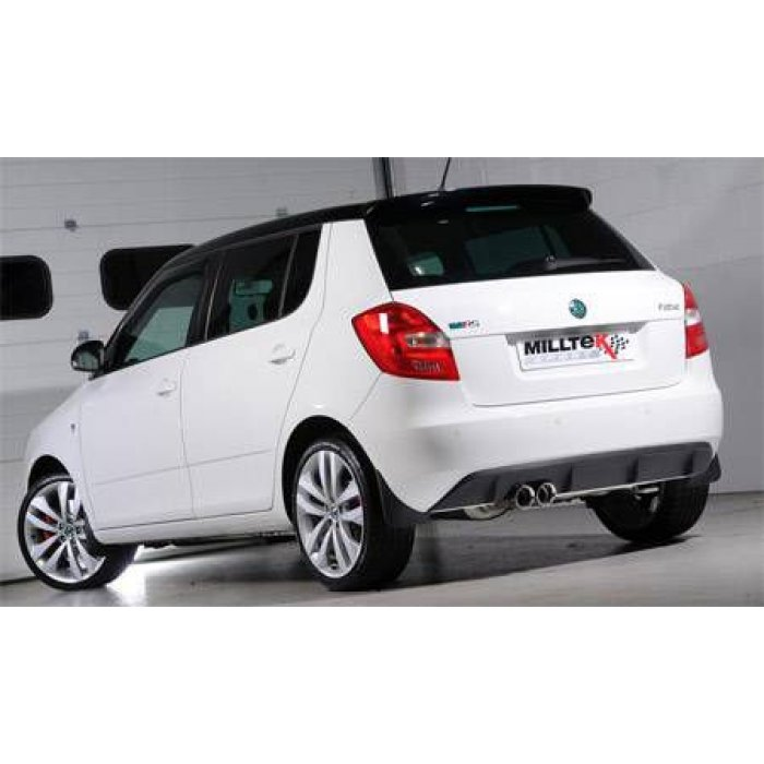 Milltek Cat Back Exhaust - Fabia vRS 1.4 TSI 180bhp
