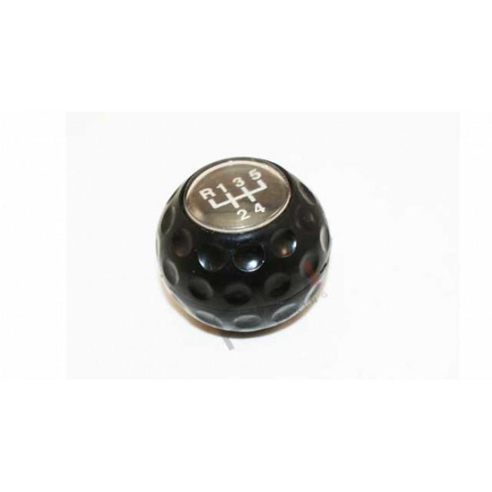 Golfball Gearknob Black Golf 1/Golf 2 5speed