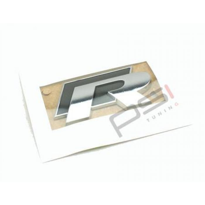 Genuine VW R Rear Badge Emblem
