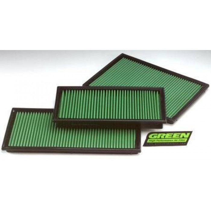 Green Performance Panel Filter - 996 3,6L GT2 + GT3 01>04