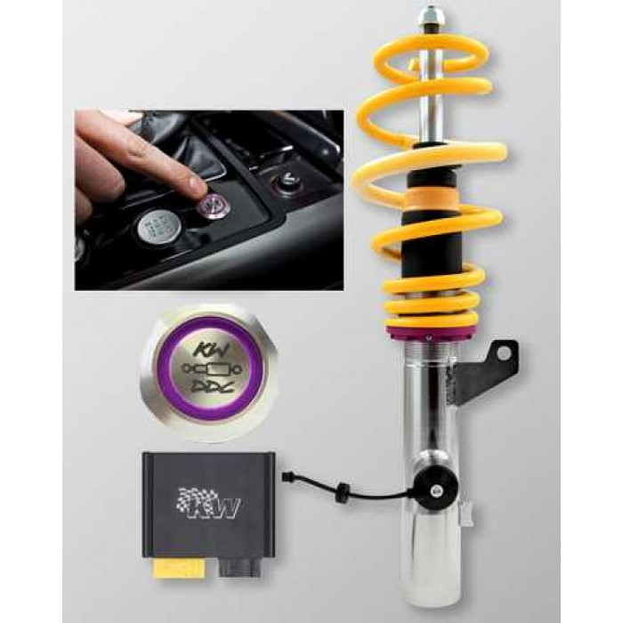 KW DDC ECU Coilover Kit - A4 B8 Sedan; 2WD 88-155kw 11/07-