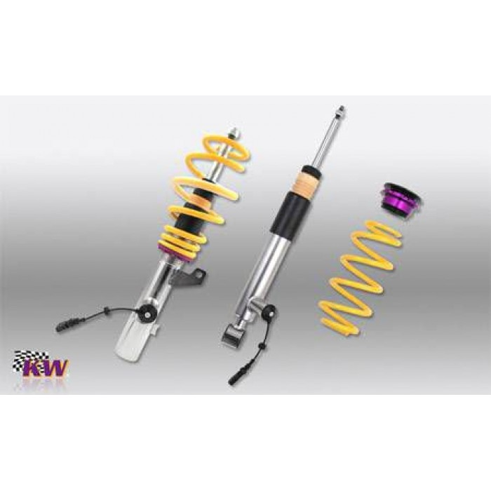 KW DDC Coilover Kit - Passat CC; (3CC) with DCC 2WD, 4WD susp strut Ø 55mm 06/08-