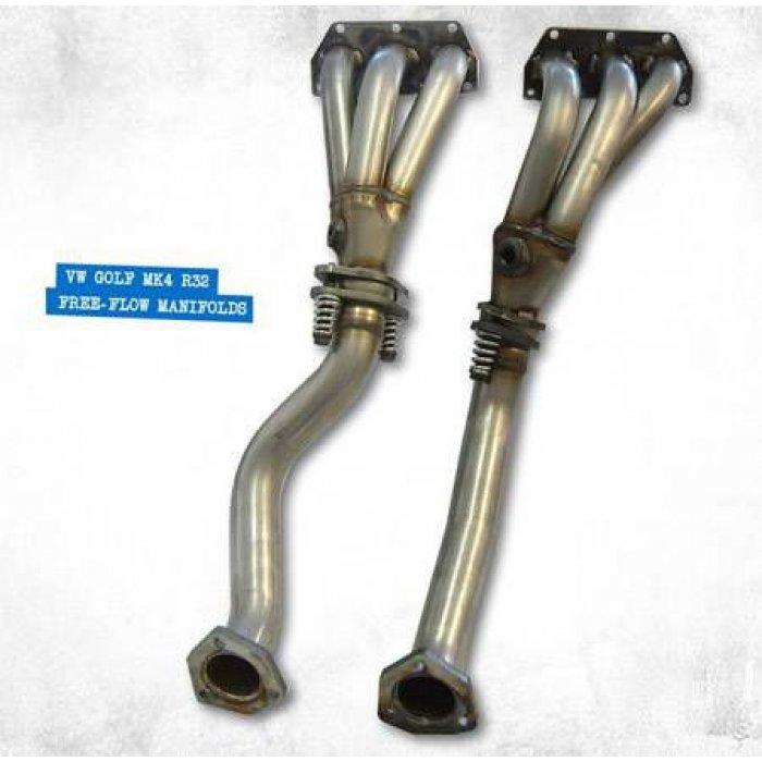 Milltek Free-flow Manifolds - Golf Mk4 R32 3.2 V6 4WD