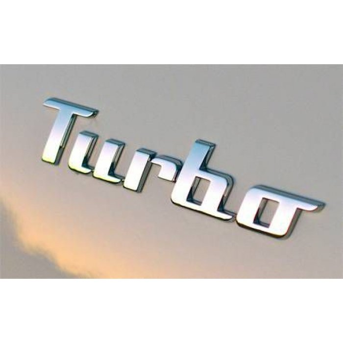 New Beetle Turbo Badge Emblem