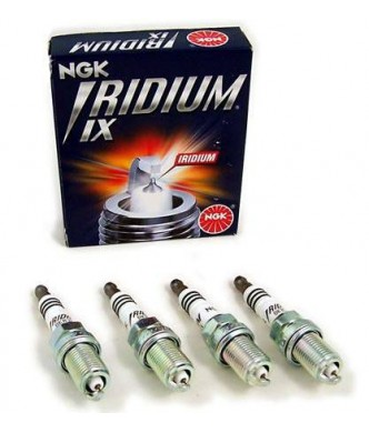 NGK Iridium X Spark Plugs One Step Colder x4 - 2.0TFSI/TSI