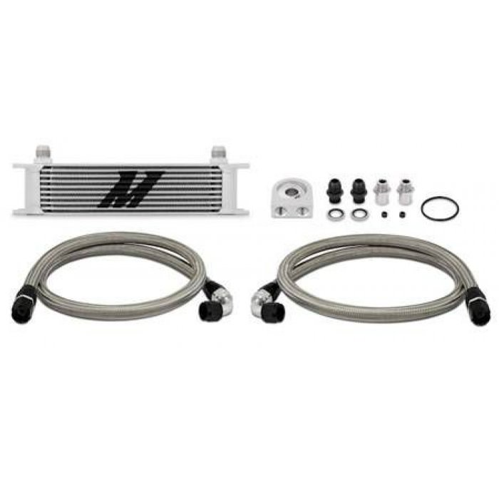 Universal Mishimoto 10 Row Oil Cooler Kit