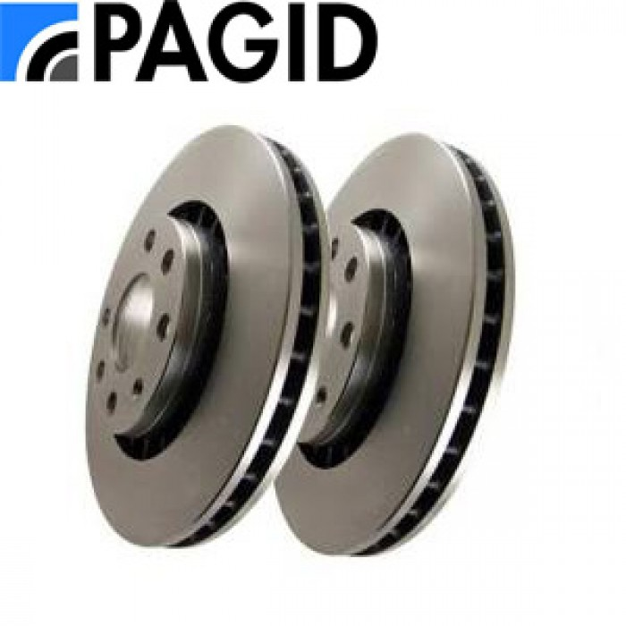 Pagid Front Discs Pair - 312mm - TT Mk1 4 Cyl/S3 1.8T