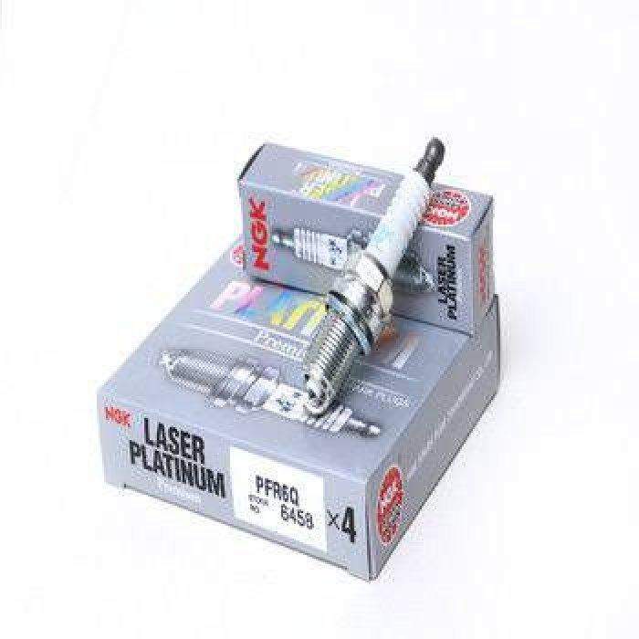 NGK PFR6Q Laser Platinum Spark Plugs - 1.8T