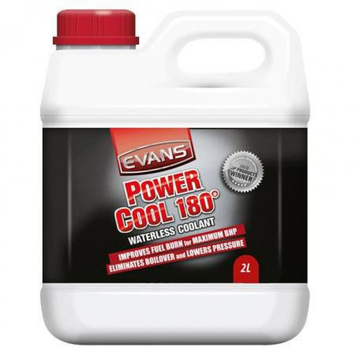 Evans Power Cool 180° Waterless Engine Coolant 2 Litre