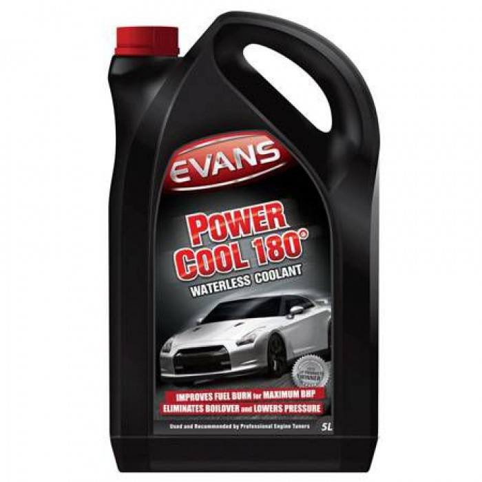 Evans Power Cool 180° Waterless Engine Coolant 5 Litre