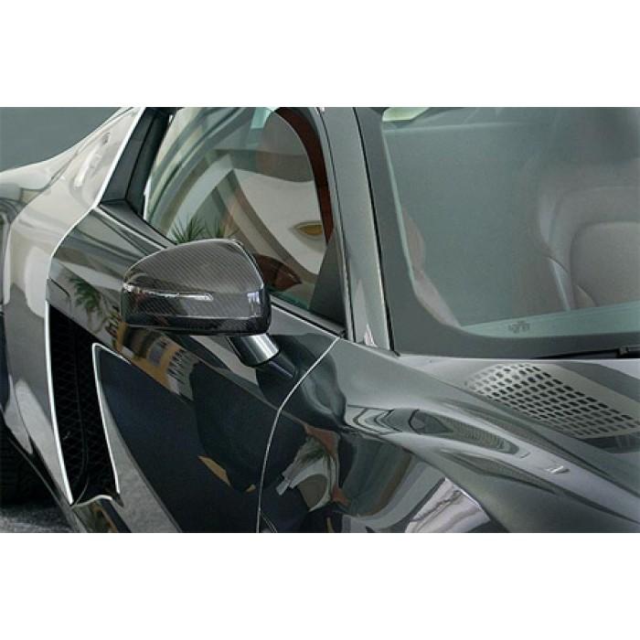 Hofele Design Carbon Mirror Caps - R8
