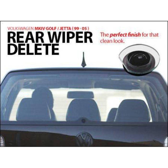 Rear Wiper Delete - Golf Mk4