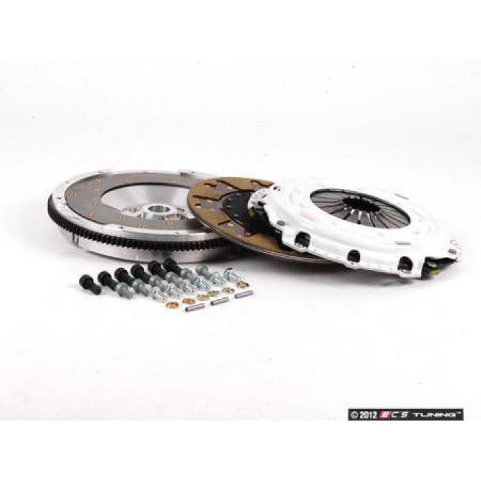 ECS Stage 3 Clutch Kit - Aluminum Flywheel (9lbs.) - Golf Mk4/TT Mk1 etc 6 speed