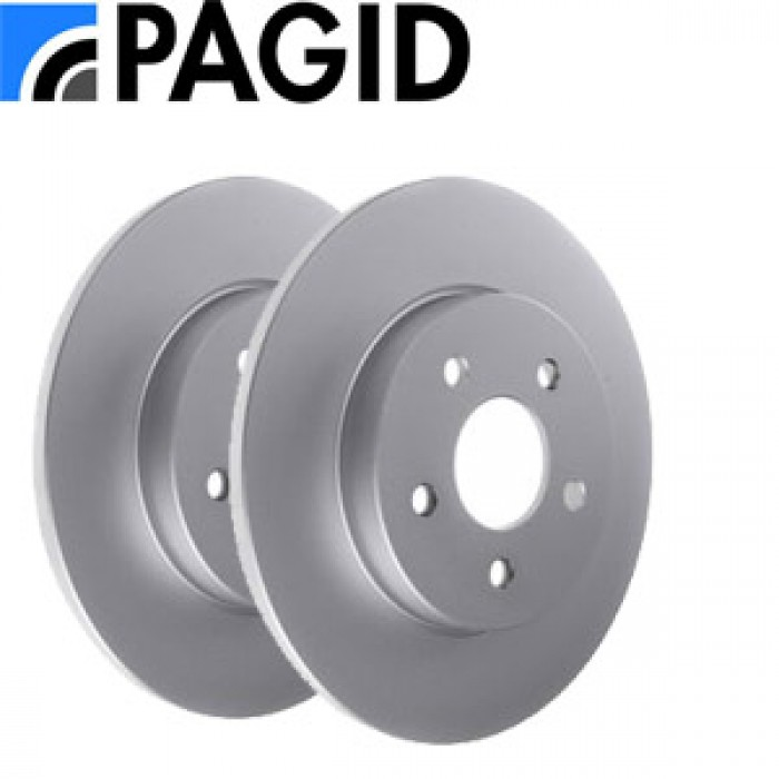 Pagid Rear Discs Pair - Golf MK2 GTI 16v