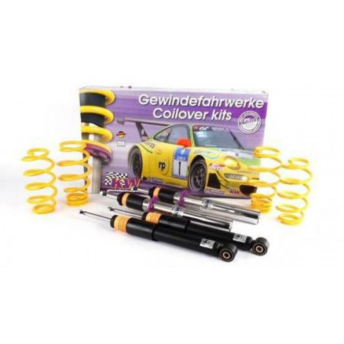 KW V1 INOX Coilover Kit - Caddy Maxi; (2K, 2KN) 2WD; except EcoFuel, susp strut diameter 55mm 12/07-
