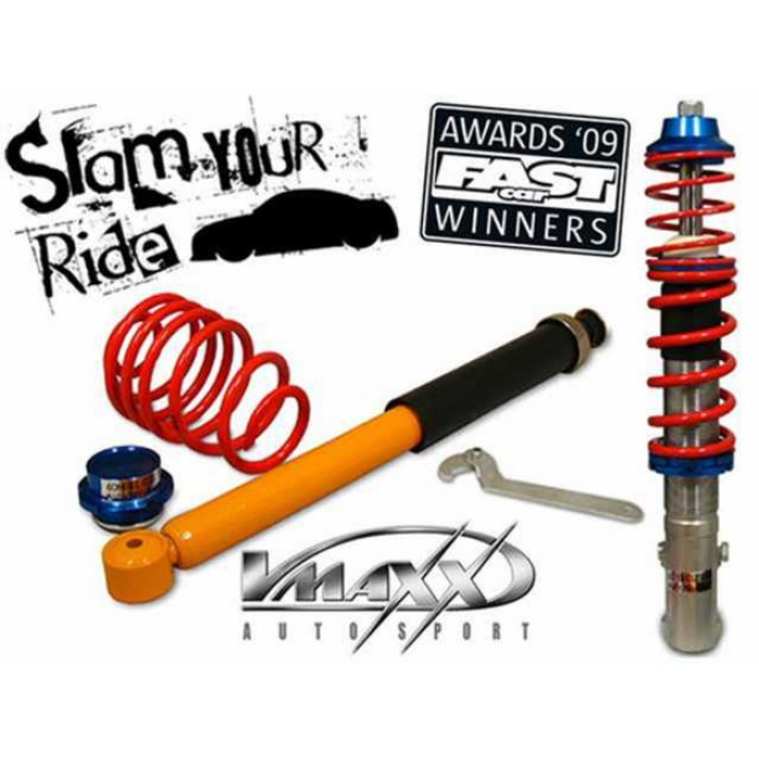 Vmaxx Height Adjustable Coilovers Low Kit - Fox 1.2 / 1.4 / 1.4 TDi 05-